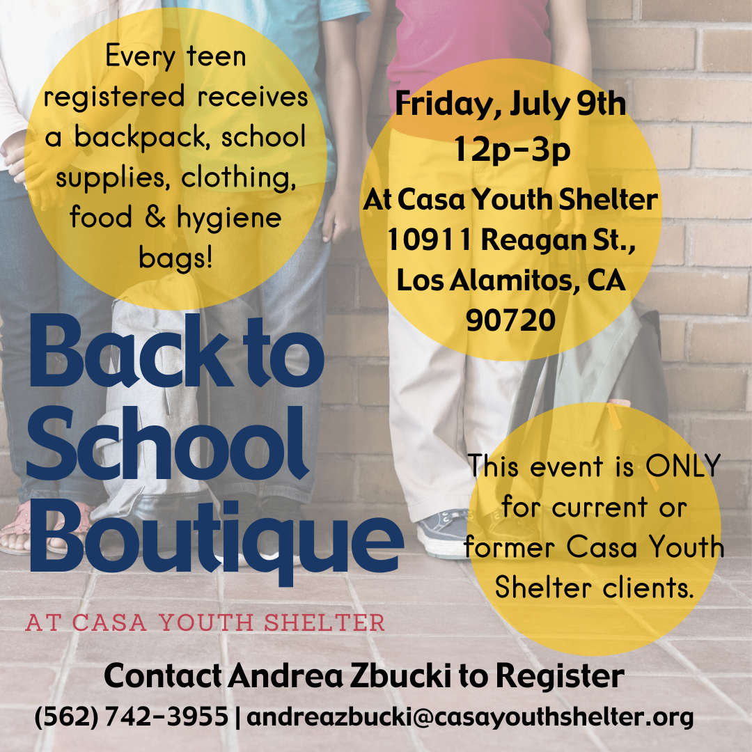 Back to School Boutique 2021