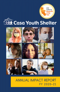 CYS Impact Report 2020-21 Cover